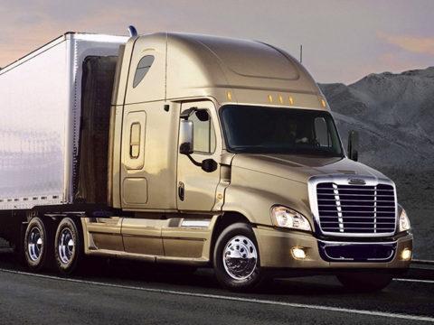 Big Trailer Truck